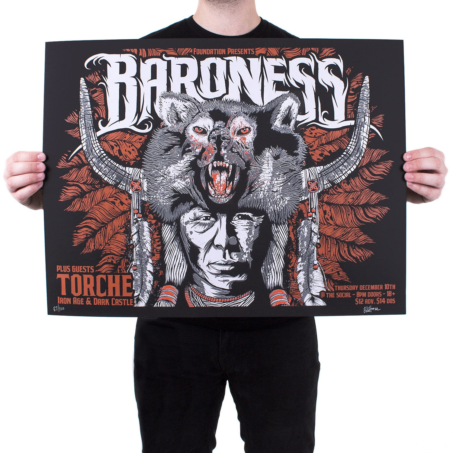 Pale Horse 'Limited Baroness' Poster