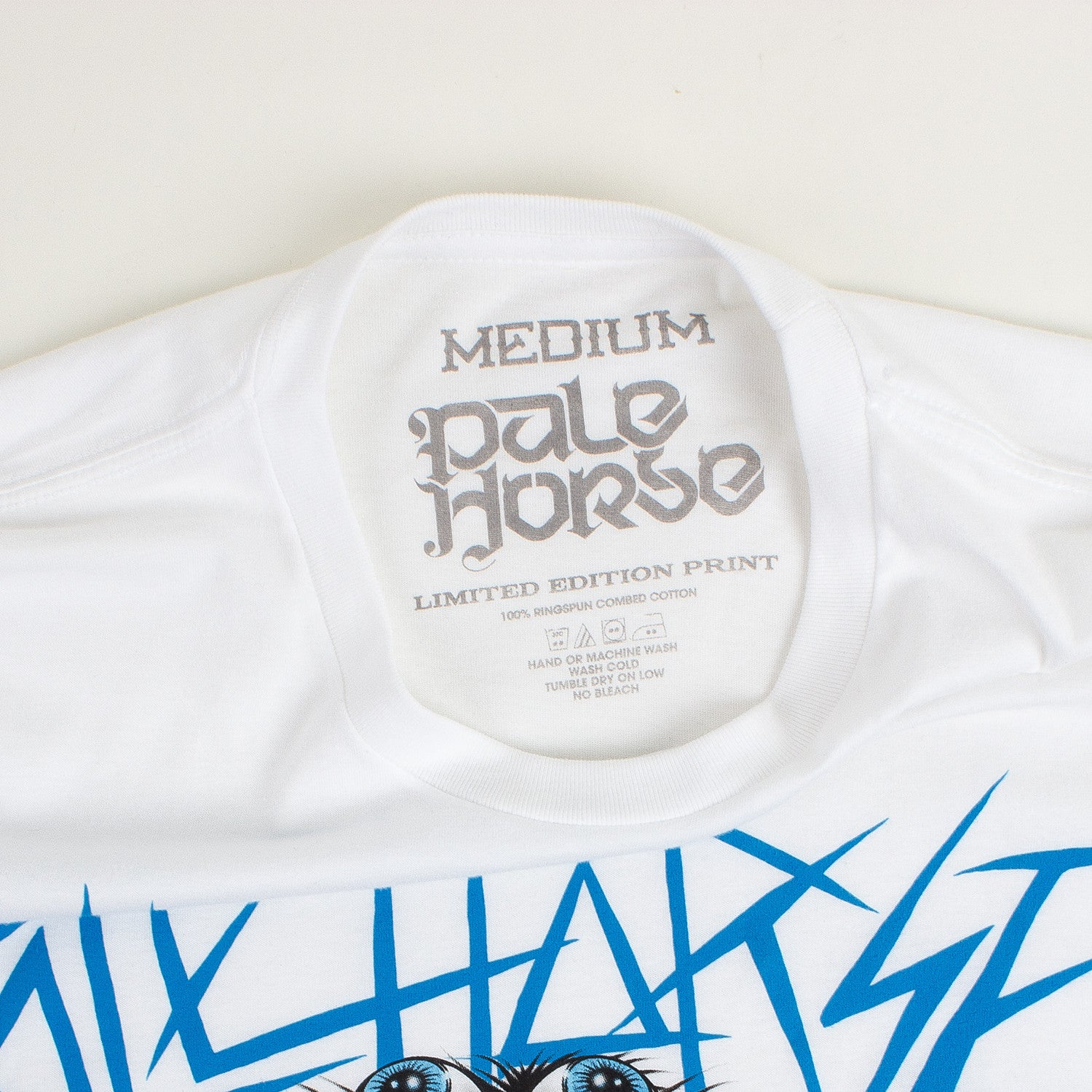 Pale Horse 'Jaguar' T-Shirt - White