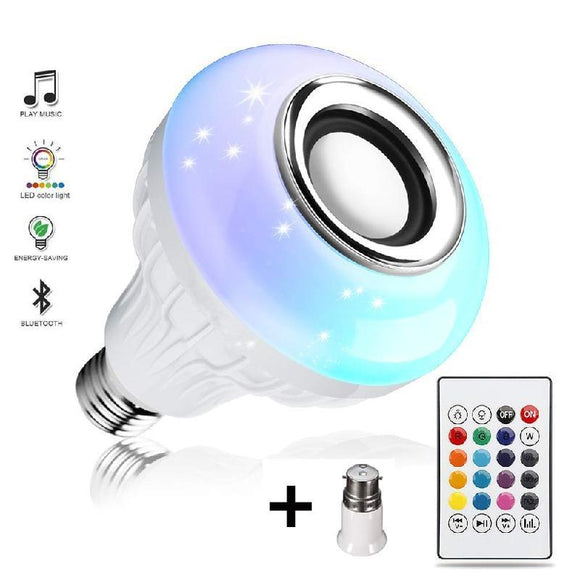 LED Bulb With Bluetooth Speaker - Shyamkrupa Enterprise