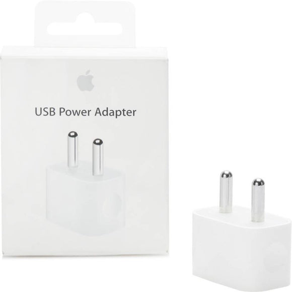 uy Apple 5W 1A USB Power Adapter (White) Online - Shyam Krupa Enterprise