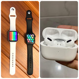 W26 Plus Series 6 Smart Watch & Apple AirPods Pro High Quality Replica -(Combo)