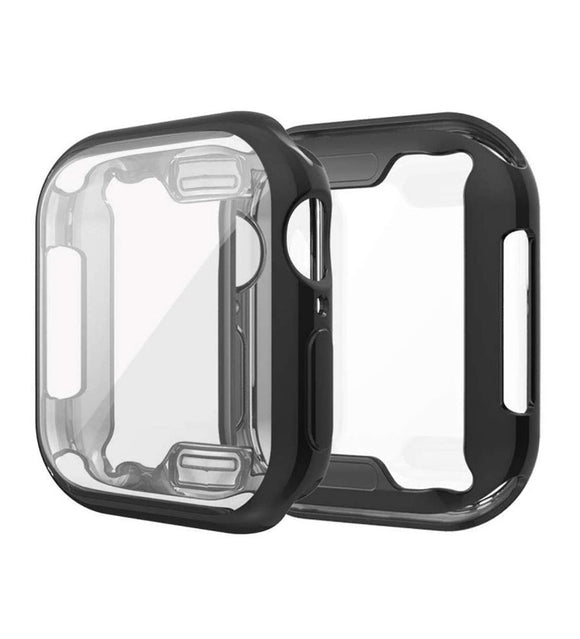 Apple I Watch Case - Compatible with Apple Watch 42/ 44mm  Built-in 9H Hardness Tempered Glass Screen Protector