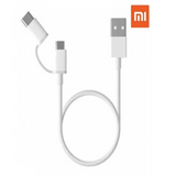 Mi 2-in-1 USB Cable Micro USB to Type C (100cm)
