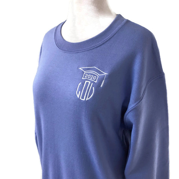Graduation Crewneck Sweatshirts - Multiple Colors