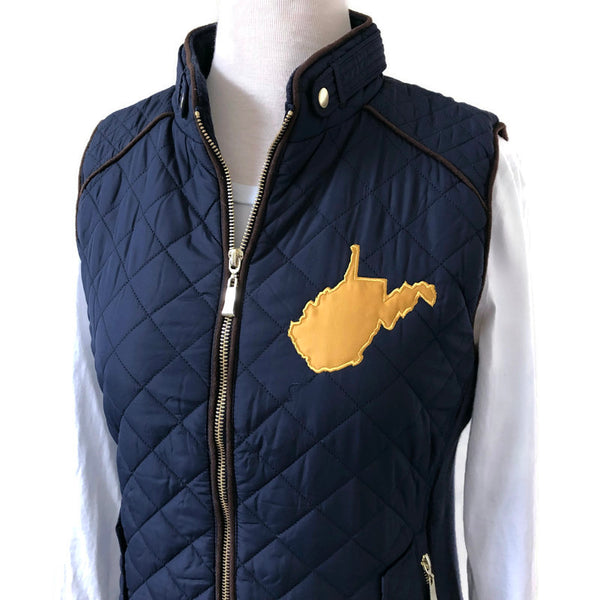 West Virginia Navy Vests