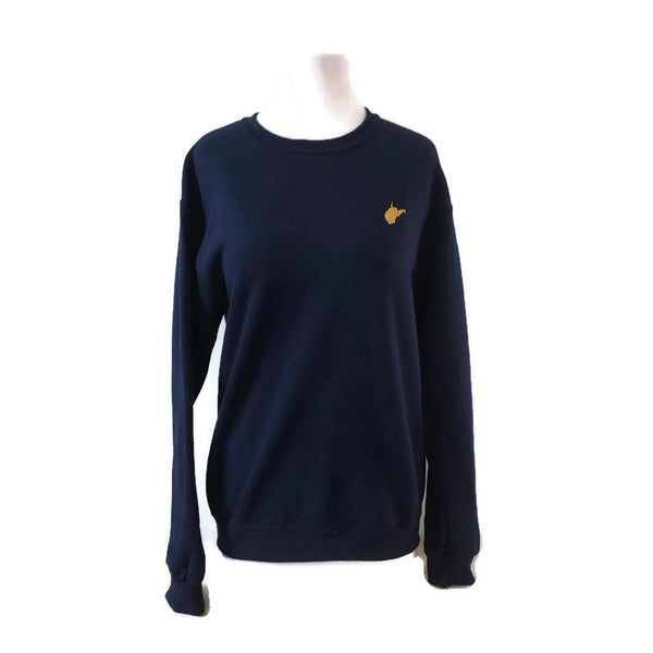 Mini WV Navy Crewneck