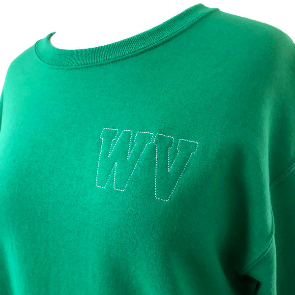 WV Green Crewneck