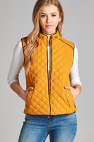 Mustard Monogram Vests - 3X