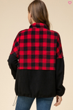 Buffalo Plaid Fleece / Final Sale / Smalls