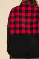 Buffalo Plaid Fleece / Final Sale