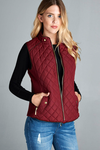 Maroon Vests Smalls / Final Sale