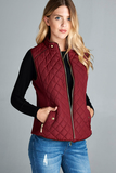 Maroon Vests Small & 3X / Final Sale