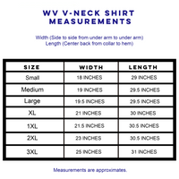 WV V Neck Shirt - Gold