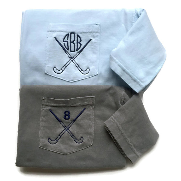 Field Hockey Shirt, Monogram Shirt, Team Shirts, Gift For Coach, Comfort Colors