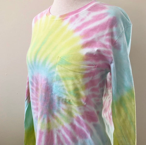 Summertime Dreams Tie Dye Long Sleeve