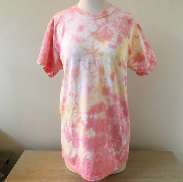 Sunset Slushie Monogram Tie Dye T-shirt