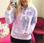 Monogram Hooded Sweatshirt - Berry Pink