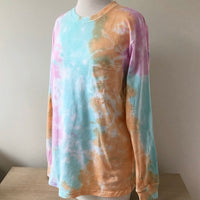 Just Peachy Tie Dye Long Sleeve