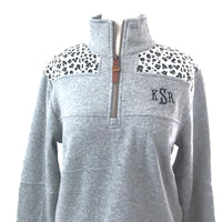 Leopard Sweatshirt/Final Sale