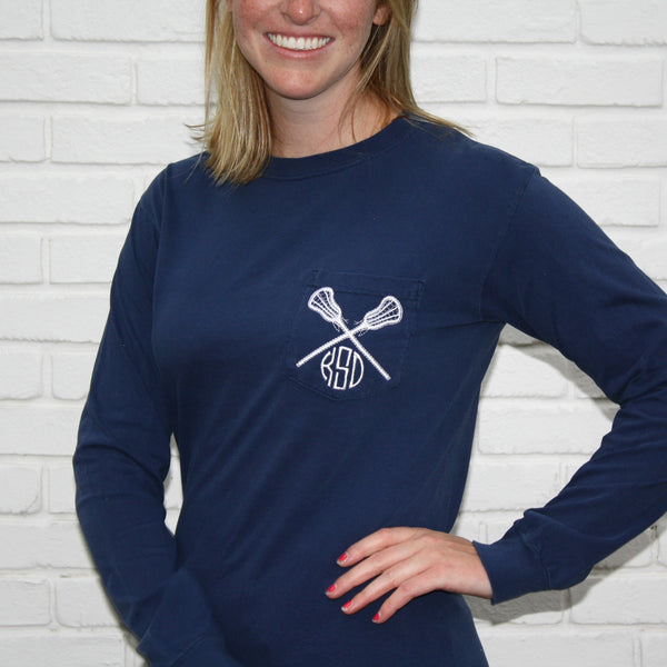 Long Sleeve Lacrosse Shirt
