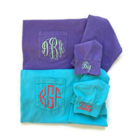 Big Little Reveal, Big Little Shirts, Sorority Shirts, Big & Little Sorority Gifts, Biggie Smalls, Comfort Colors Shirts, Monogram Shirt,