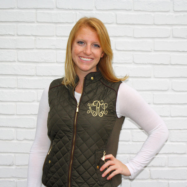 Hunter Monogram Vests 1X & 2X