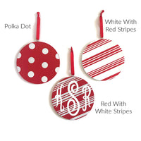 Red & White Ornaments