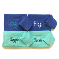 Big Little Reveal, Big Little Shirts, Sorority Shirts, Big & Little Sorority Gifts, Biggie Smalls, Comfort Colors Shirts