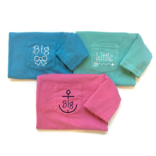 Short Sleeve Sorority Family Symbol Reveal Shirts