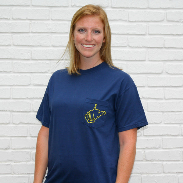 Short Sleeve West Virginia Shirt