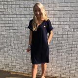 WV T-Shirt Dress - Navy