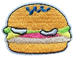 Burger 2 Patch 4.2 X 3.2cm