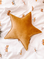 Load image into Gallery viewer, Velvet Star Cushion