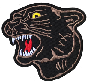 Panther Patch 11.8 X 11cm