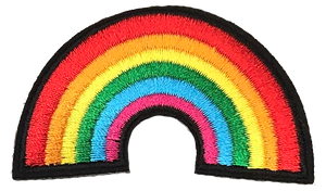 Rainbow Patch 7 X 4cm