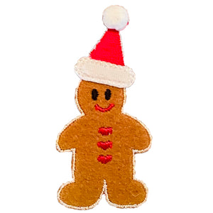 Christmas Ginger Bread Man Patch
