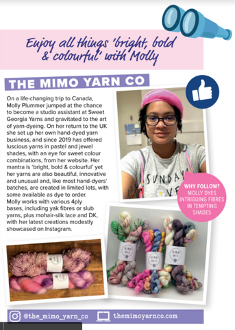 The Mimo Yarn Co. Feature
