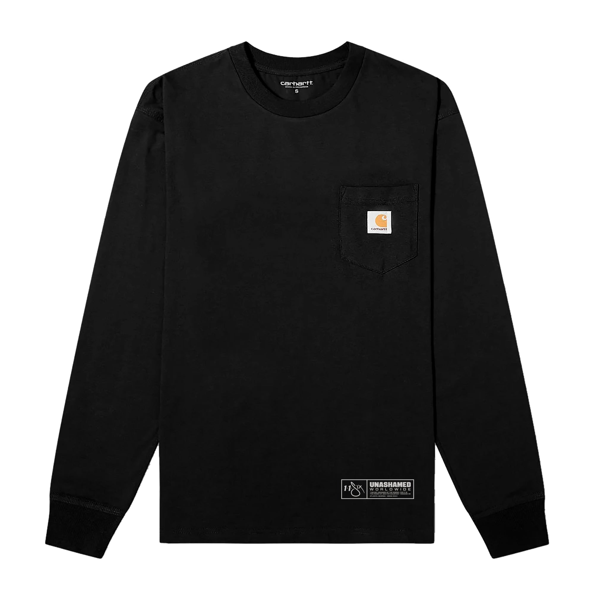116 x Carhartt 'Not For Human Masters' Long Sleeve Tee