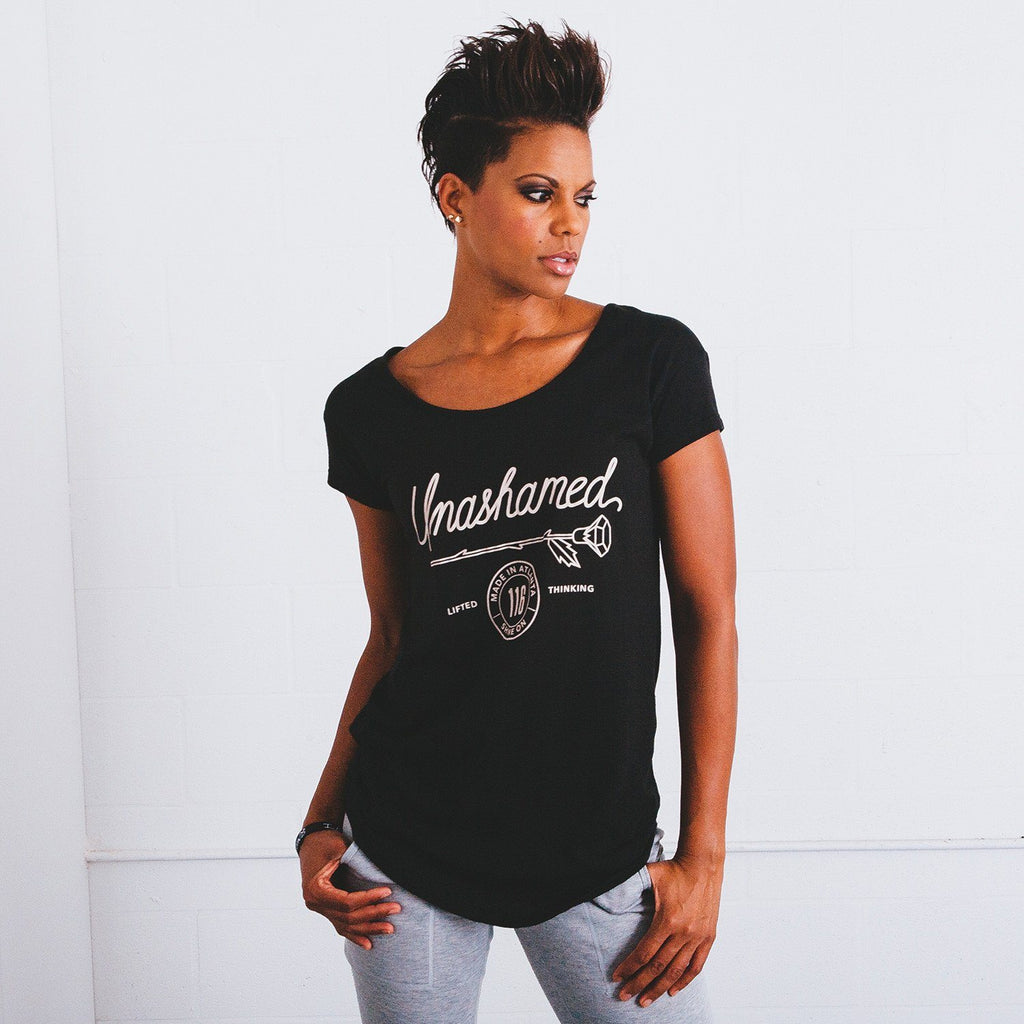 Women's 116 Unashamed Rose Scoop Neck
