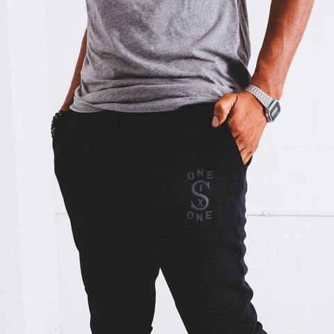116 Athletics x Will Bryant Joggers with Reflective Patch