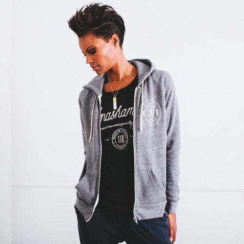 Women's Unashamed CXVI Soft Eco Full Zip Fleece