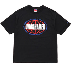 'Unashamed Worldwide' Champion Tee
