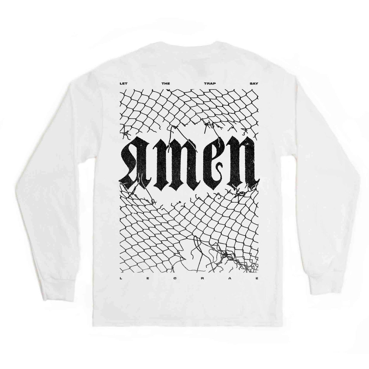 Lecrae x Zaytoven 'Let The Trap Say Amen' Long Sleeve