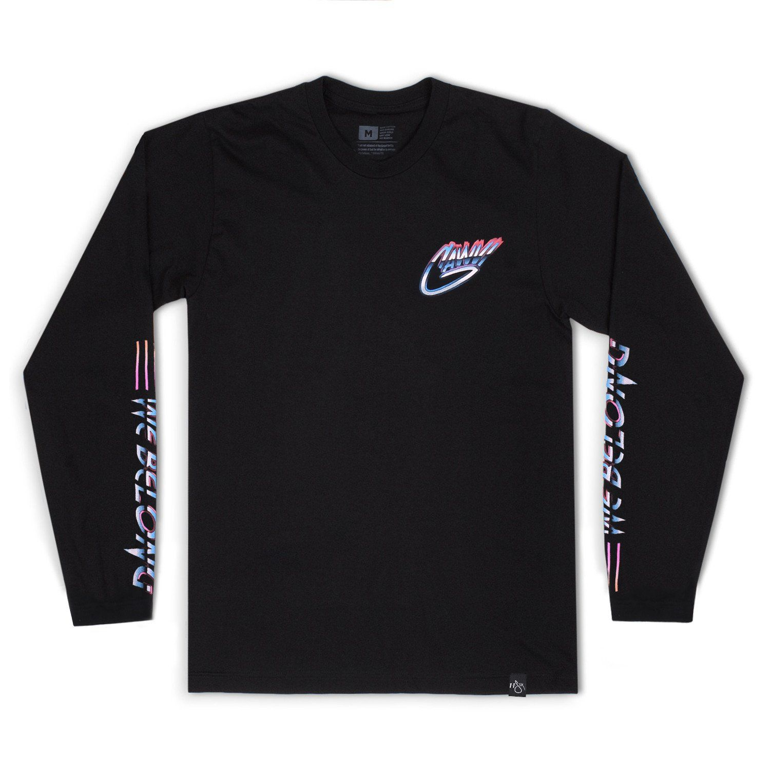 Gawvi 'We Belong' Long Sleeve T-Shirt
