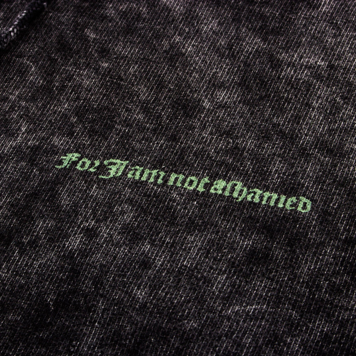 For I Am Not Ashamed Pull Over Hoodie