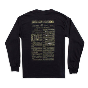 For I Am Not Ashamed Long Sleeve Tee