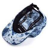 Reach Records Lecrae 'Anomaly Tie Dye' Denim 5 Panel Hat - Inside