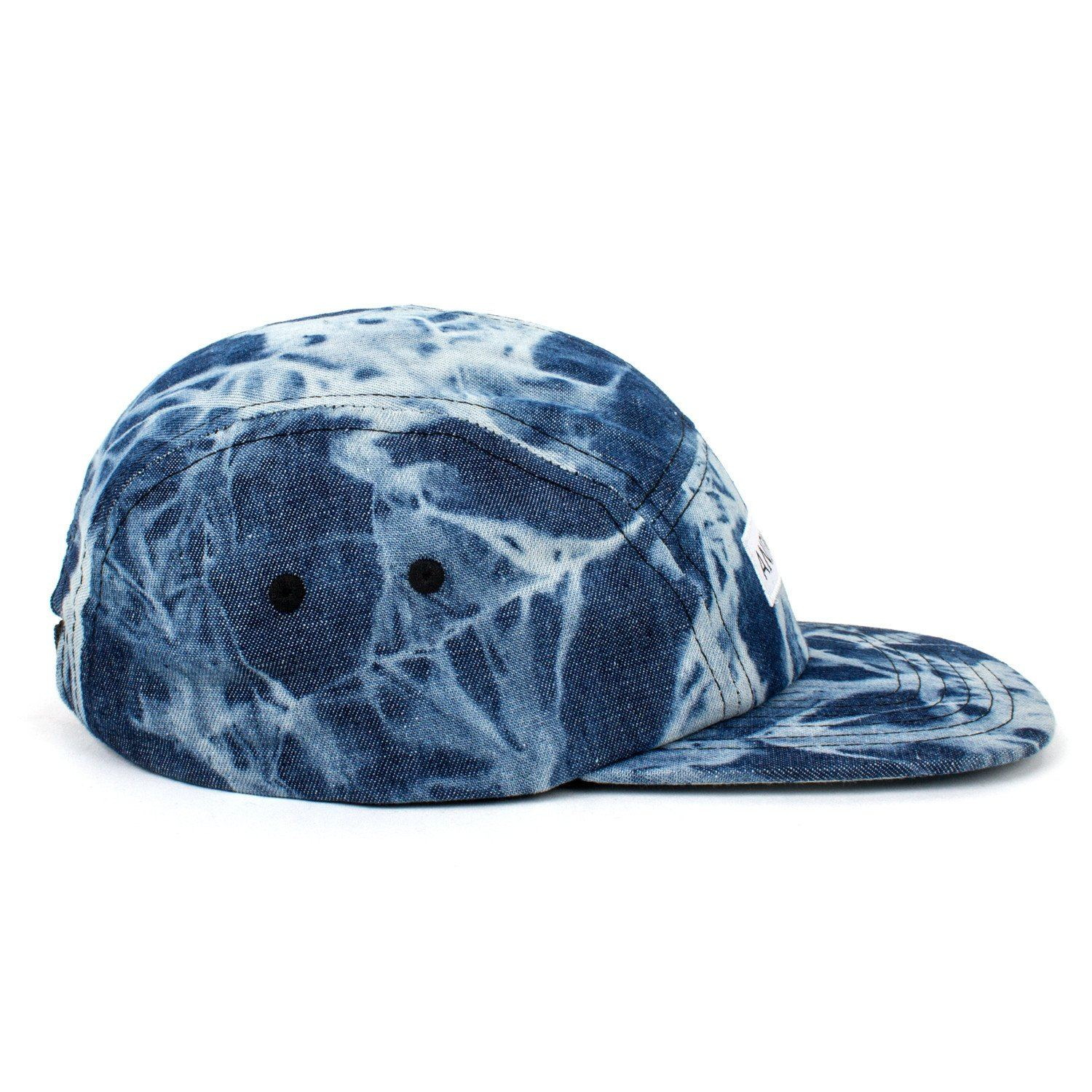 Reach Records Lecrae 'Anomaly Tie Dye' Denim 5 Panel Hat - Side