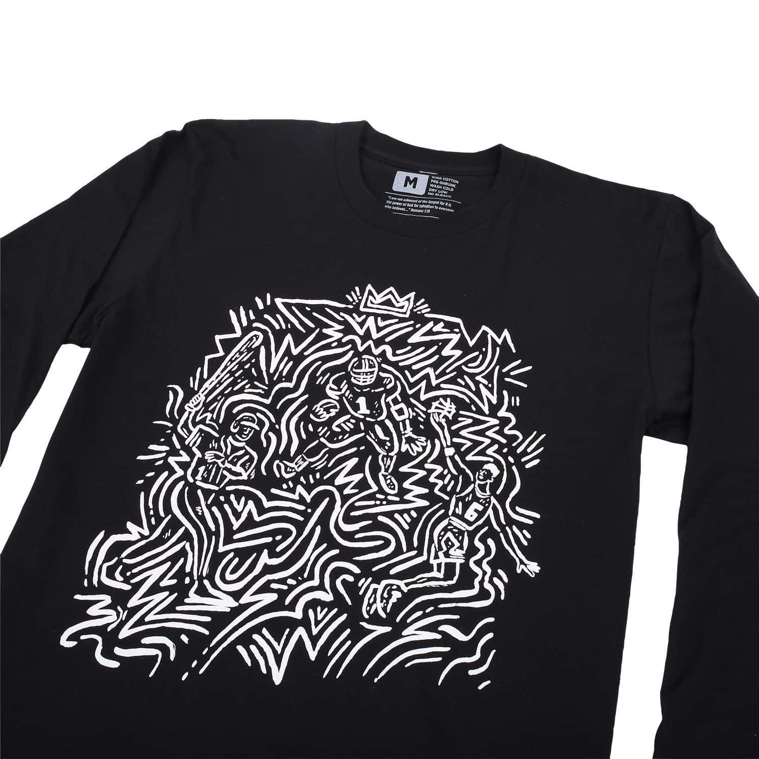 116 Athletics x Will Bryant Scramble L/S T-Shirt