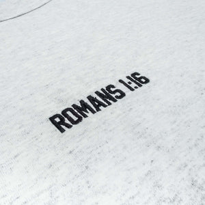116 x Champion 'Romans 1:16' T-Shirt - Silver